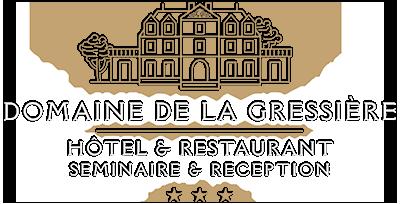 Domaine de la Gressière *** Hotel Restaurant, Séminaire & Réception Logo